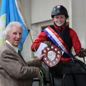 Tara Wilkinson, Supreme Champion Junior 2015